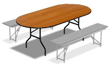 Стол складной ДМ-ОТД