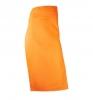 Фартук с разрезом; полиэстер; L=86, B=88см; оранжев.