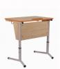 Стол ученический одноместный регулируемый 4-6 гр. с наклоном столешницы