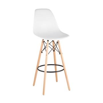 Барный стул Eames dsw белый