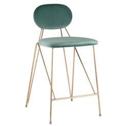 Барный стул Эклипс мятный