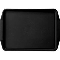 Поднос для фаст-фуда №1 45x32 см. пластиковый черный