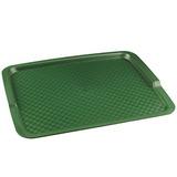 Прямоугольный поднос 8 пластик зеленый