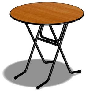 Складной стол ППТ 12