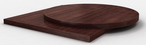 Столешница HPL темный орех толщина 25 мм