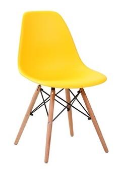 Стул Eames DSW желтый