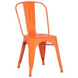 Стул Tolix оранжевый
