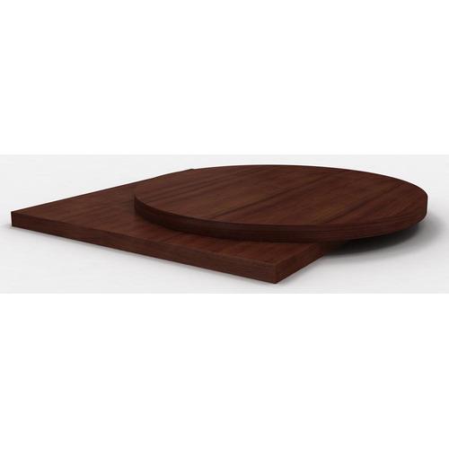 Столешница шпон дуба цвет темный орех толщина 25 мм
