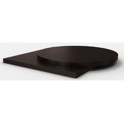 Столешница шпон дуба цвет темный венге толщина 25 мм